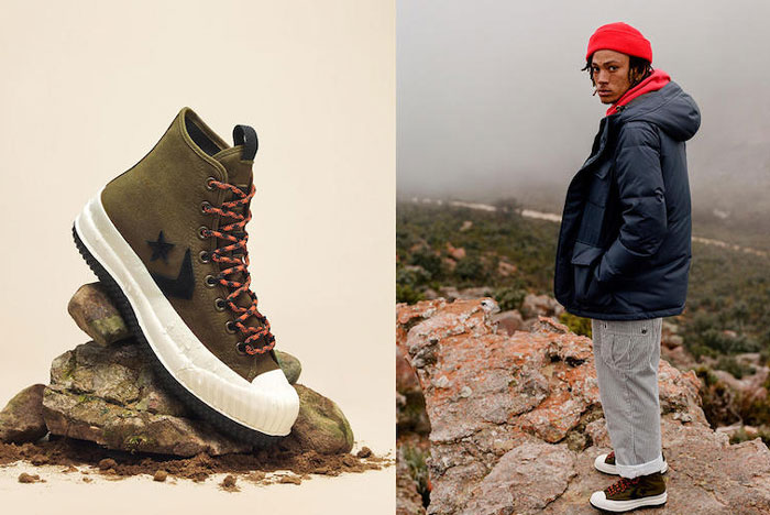 Converse Gear Up for the Battle Against Winter Weather
