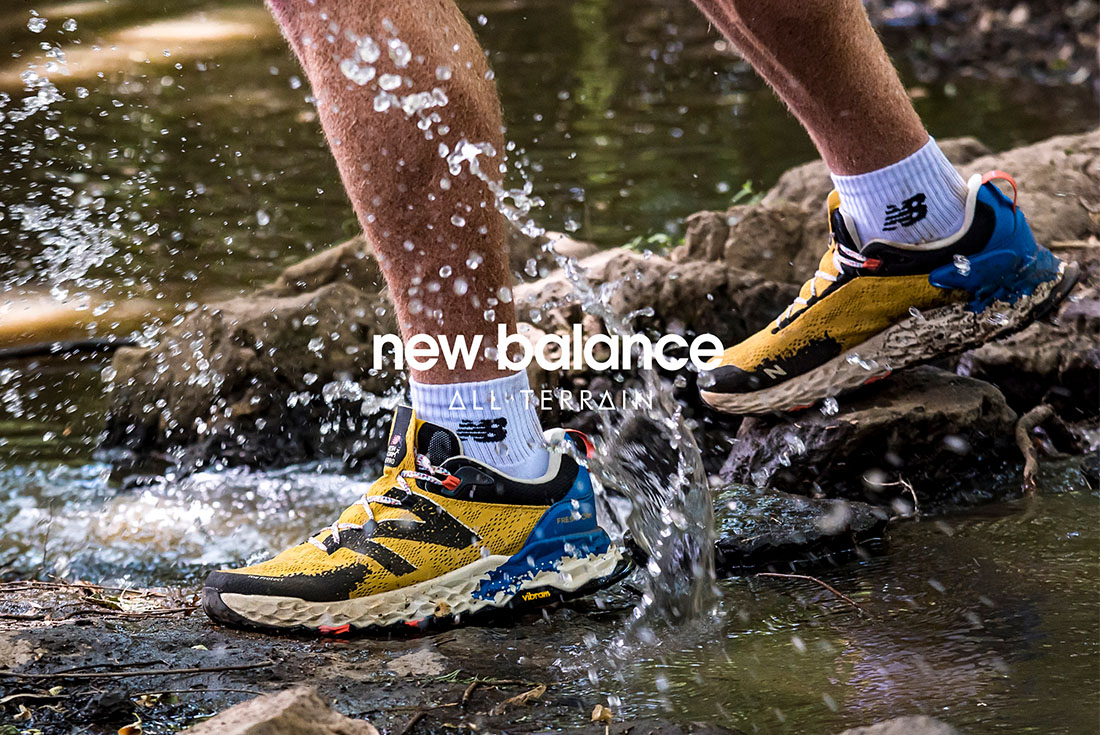 New Balance's All Terrain Collection Brings Style to the Outdoors