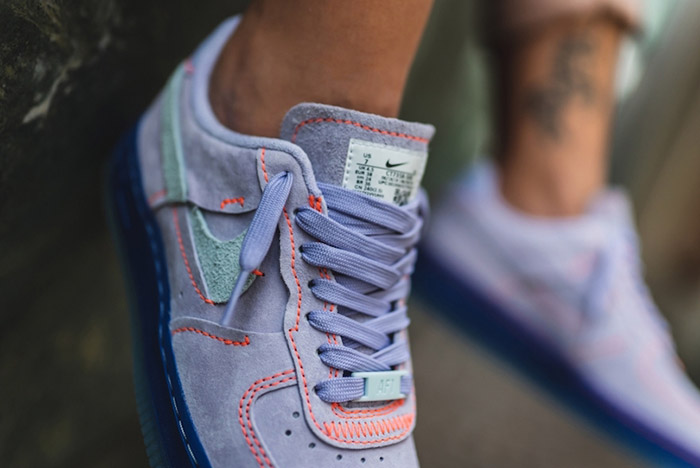 Available Now: Inside-Out Nike Air Force 1 Lux