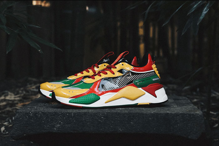 The PUMA RS-X Takes a Trip with atmos