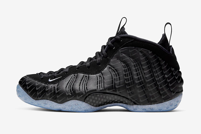 The Mini Swoosh-Covered Nike Air Foamposite One is Dropping