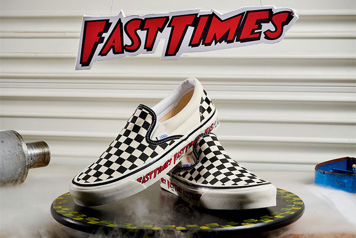 The Vans Checkerboard Slip-On Returns to Ridgemont High