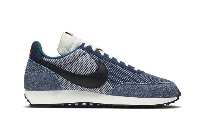 The Nike Air Tailwind 79 Mixes Denim and Leather
