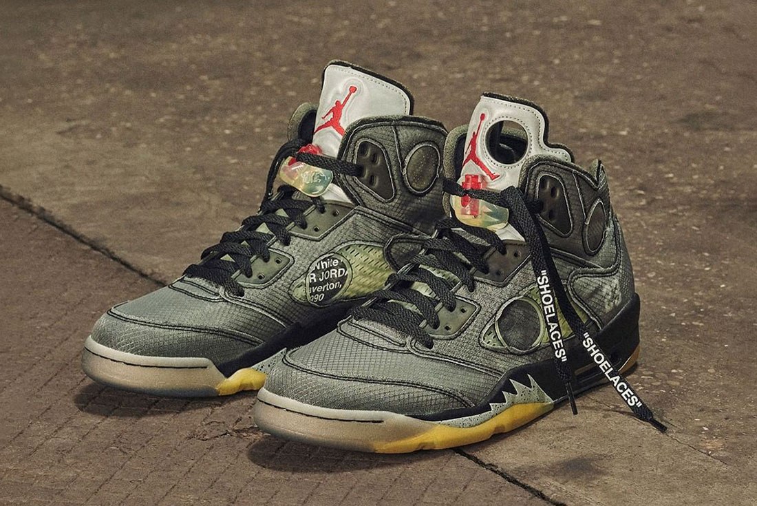 Where to Buy the Off-White Air Jordan 5 This Weekend