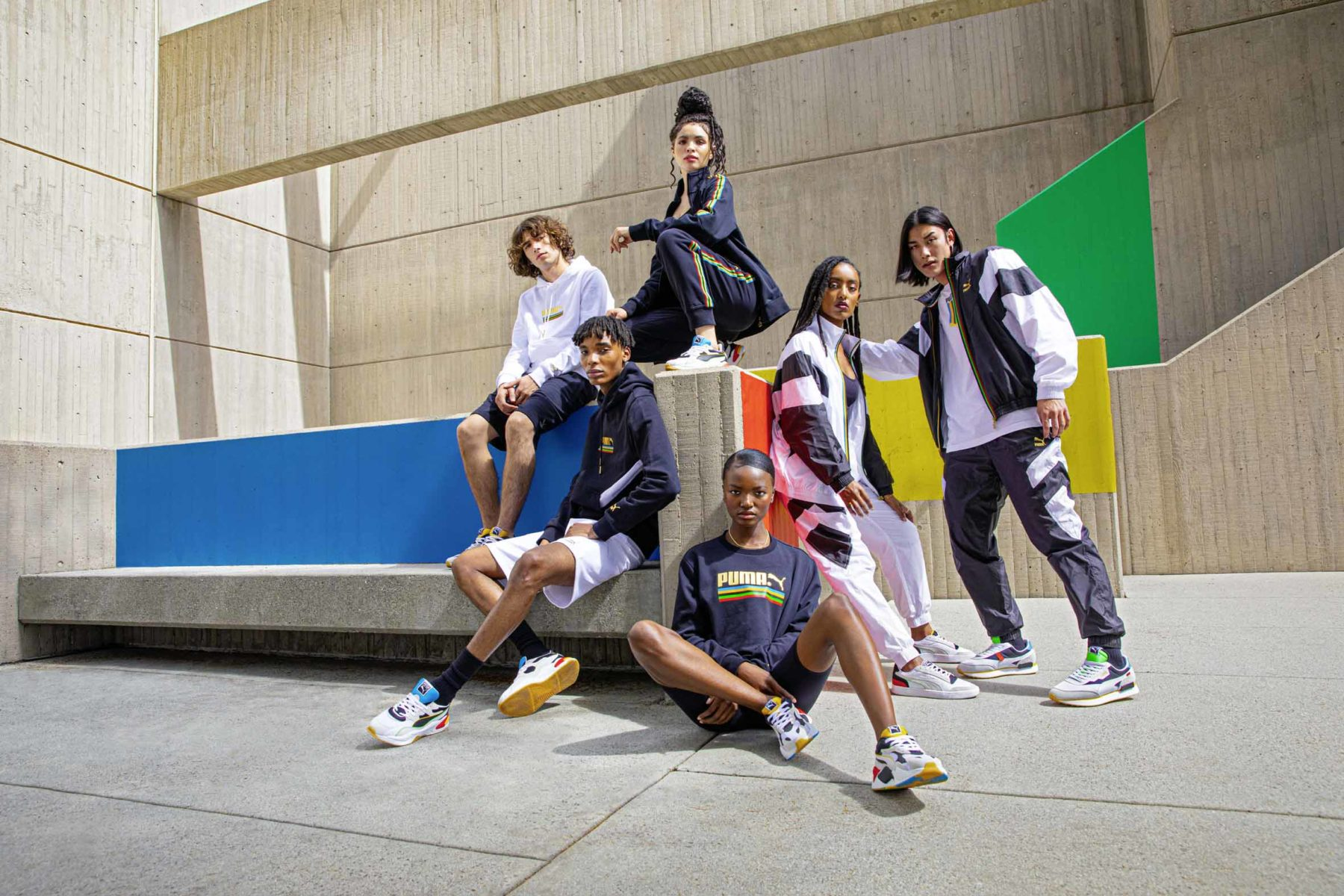 PUMA recognises the power of sport uniting the world with new Unity Collection