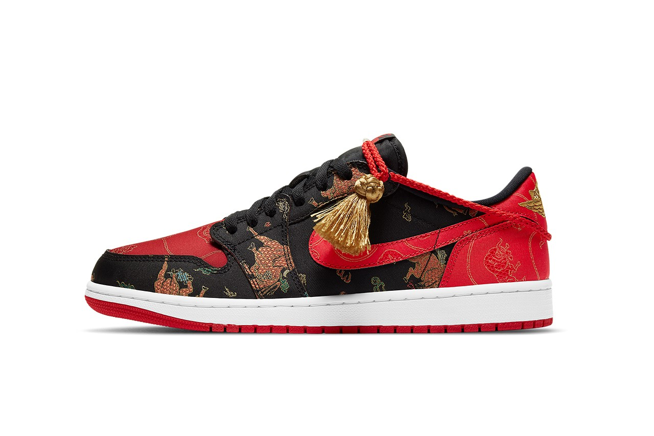 The Air Jordan 1 Low is Gearing up for Chinese New Year 2021