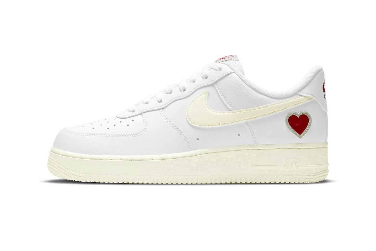 The Nike Air Force 1 is Preparing For Valentine's Day 2021