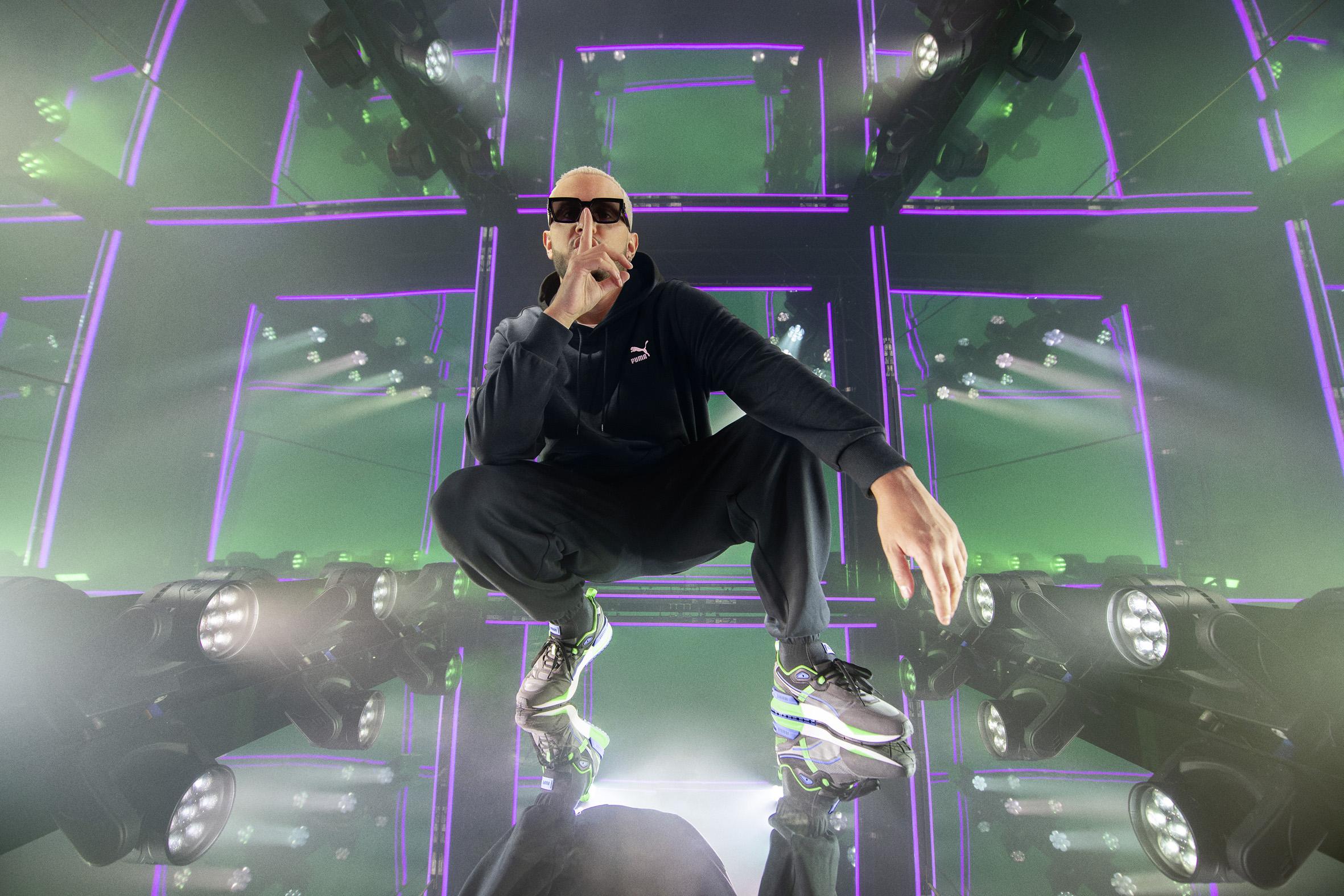 PUMA signs DJ Snake as ambassador for new Mirage sneaker franchise