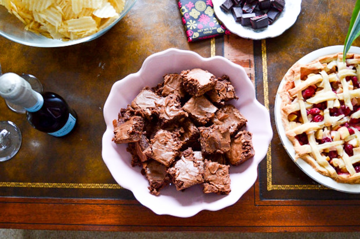 Party food: Mix sweet and salty to make everyone happy