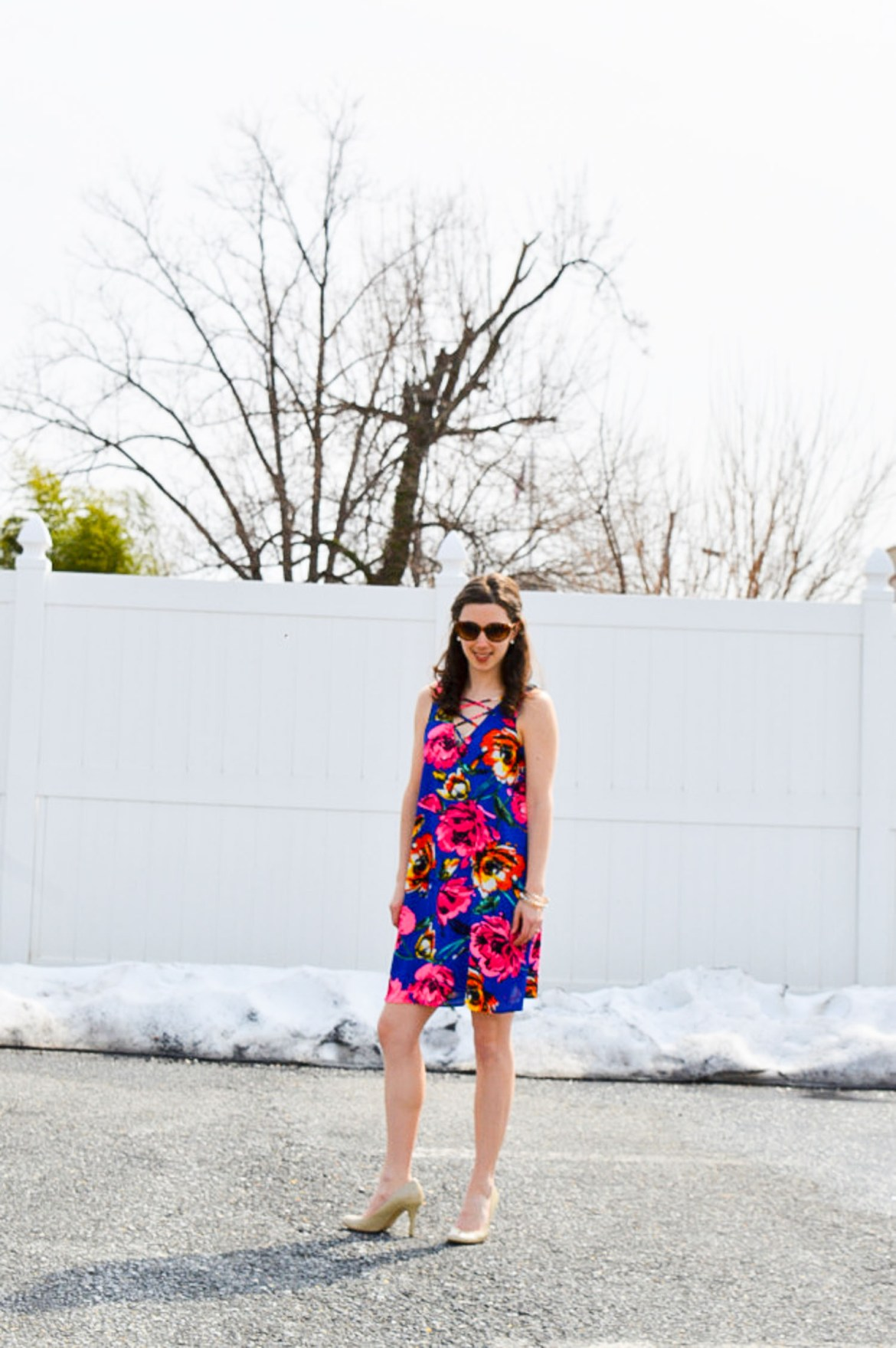 sundresses and snow - the joys of March