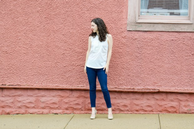 The best white top | Casual Spring Outfit