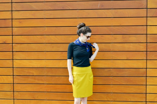Fall Outfits for the Office | Business Casual with a pop of yellow