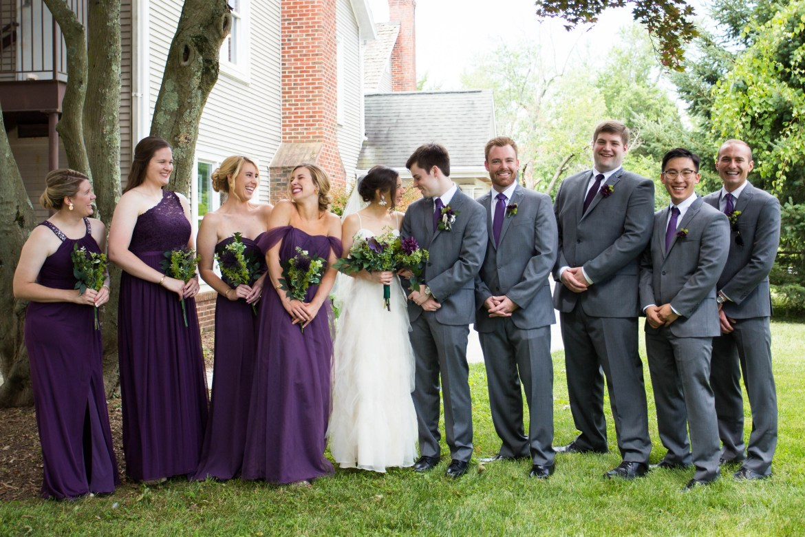 N+M | The bridal party