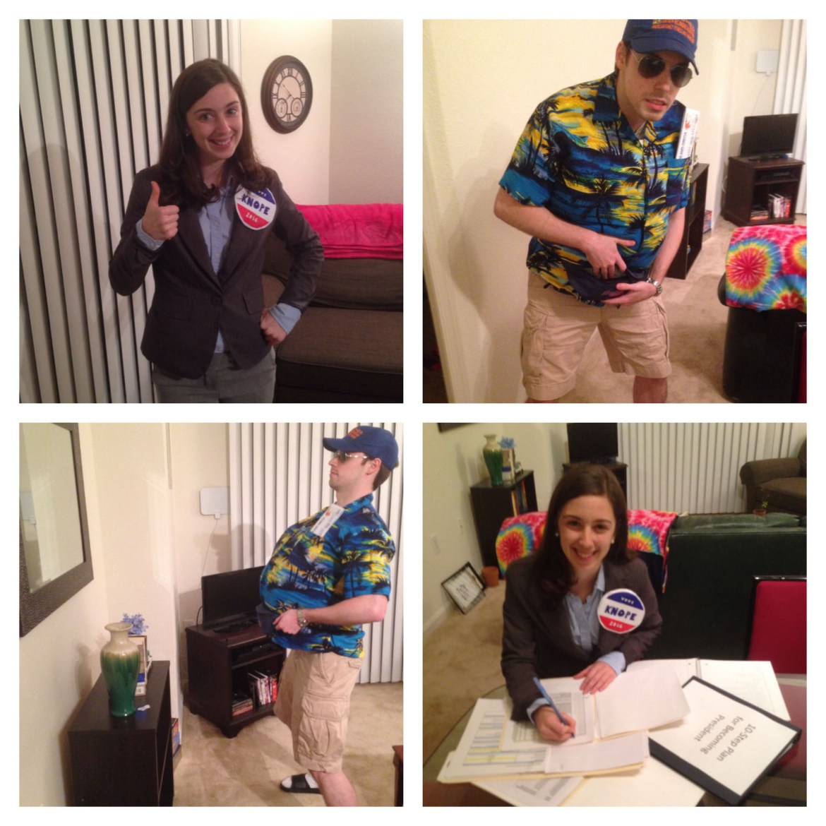 Last-Minute Halloween Costumes | Leslie Knope and a Tourist