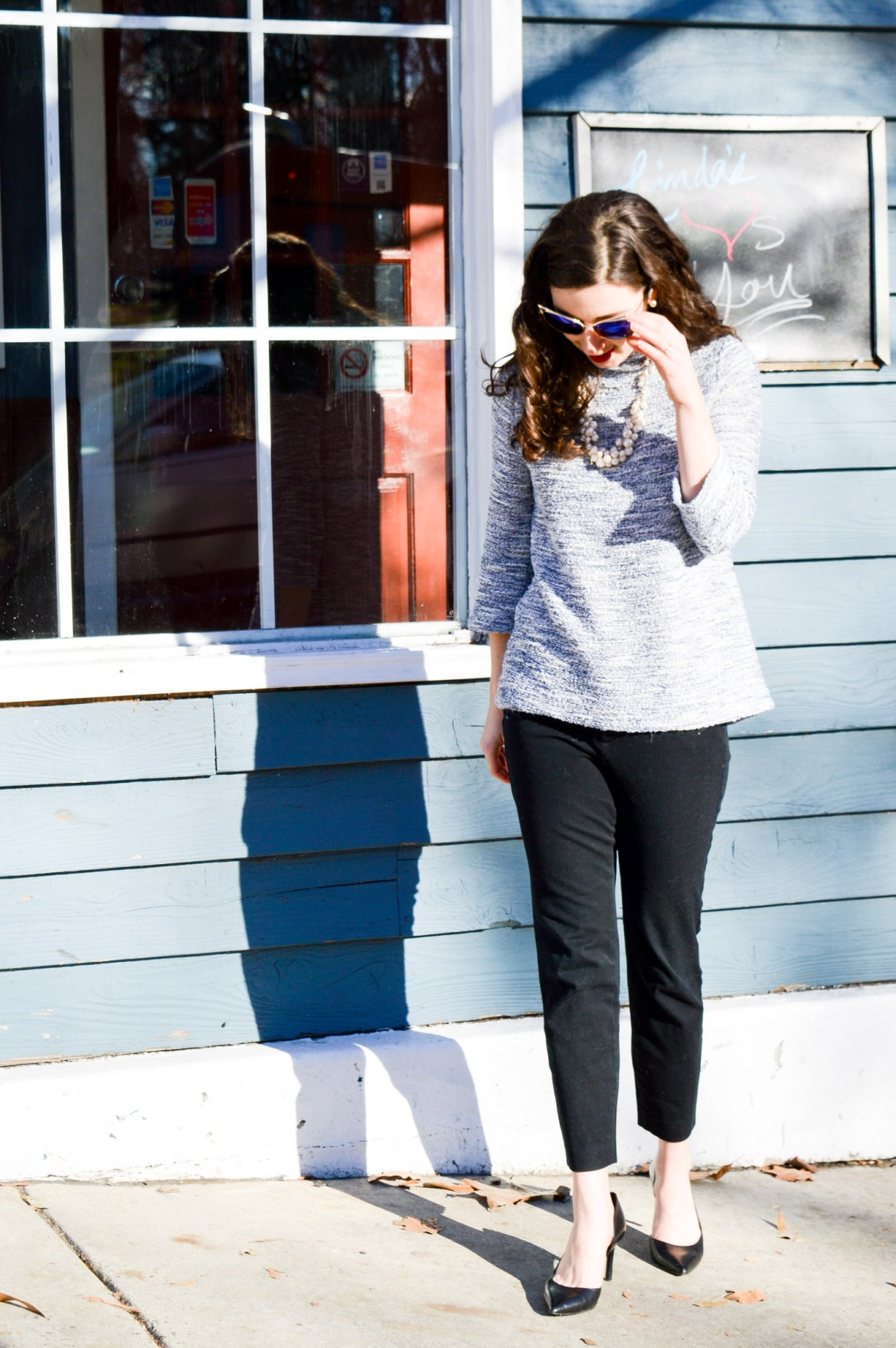 Old Navy Pixie Pants // The best work pants!