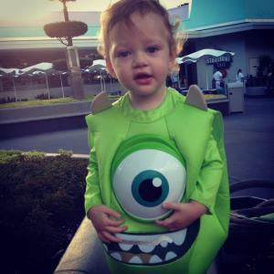 Baby Hunter as Mike Wazowski