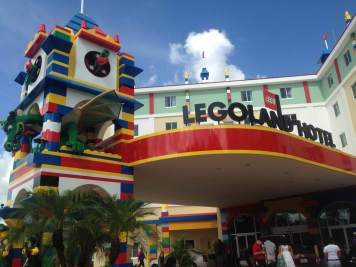 The Legoland Hotel in Florida.