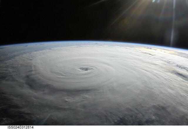 NASA Photo of Hurricane