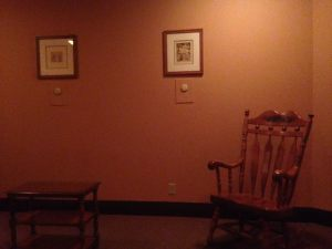 Rocking Chairs in the Nursing Mother's Room in the Baby Care Center in Epcot