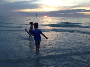 What to do in Tampa with Kids? Visit the beach...and much more. www.huntingforrubies.com