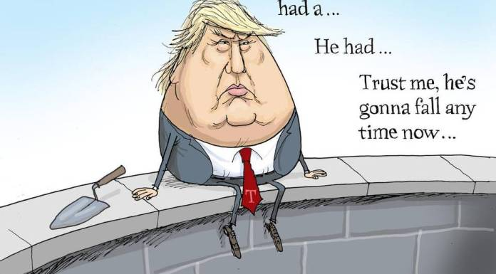 Humpty Trumpty, Trump so going to fall