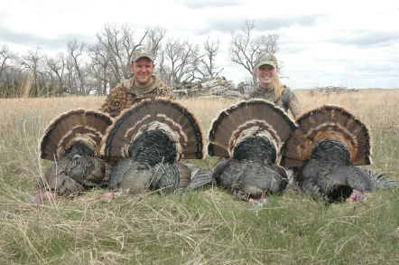 Merriam's Spring Turkey Guided Hunts - 402-304-1192