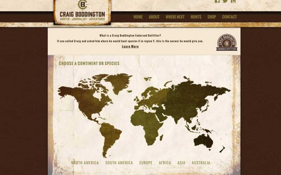 Craig Boddington and Team Launches Craig Boddington Endorsed Outfitters
