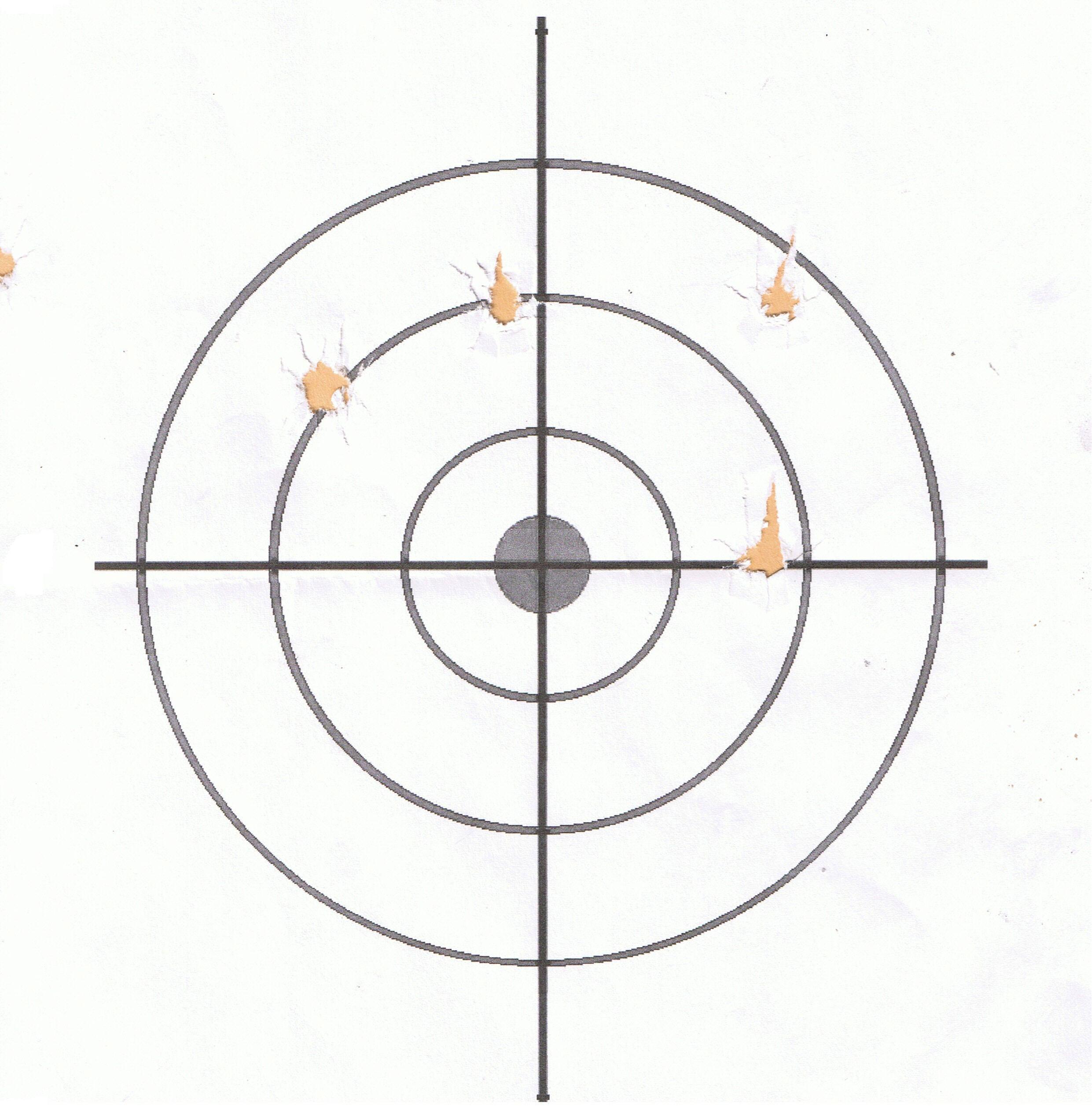 Target Shooting With Cva Trophy Hunter Iii