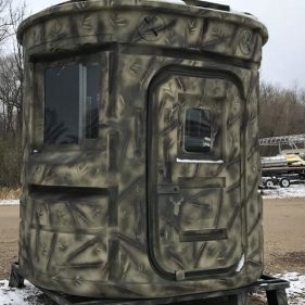 Camo Blind, Shooting Shack, Muddy Blind, Spar Paint, Hunting Camp, Business Owner,