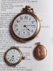 Watches and mourning locket.