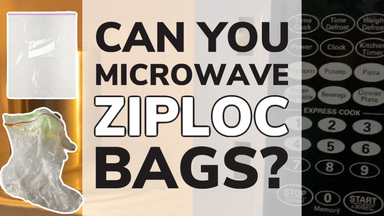 can you microwave ziploc bags tested