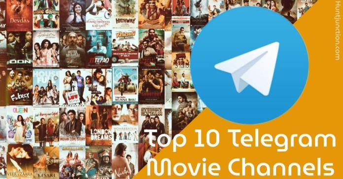 Top 10 Telegram Movie Channels- All Languages