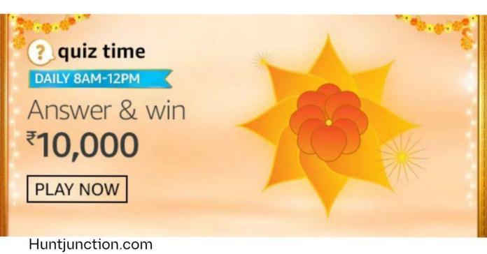 Amazon 5 Oct 2020 Quiz Answers Win Rs.1000 Pay Balance-
