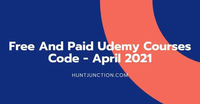Free Udemy Paid Courses | Free Udemy Courses Online April 2021