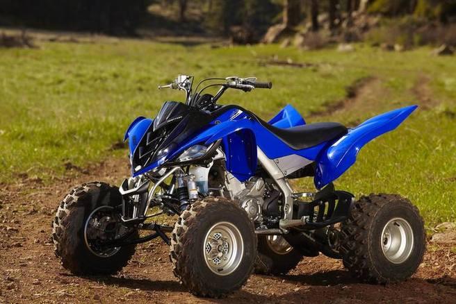 Quad bike yamaha raptor 700