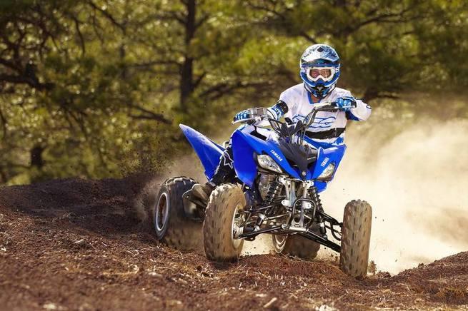 quad bike.