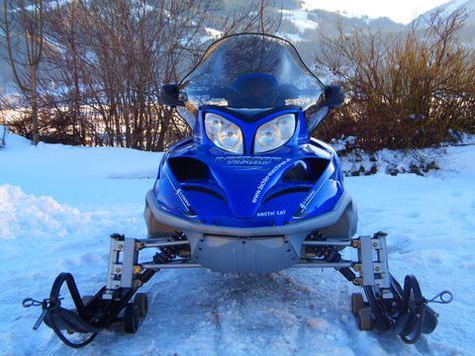 Сноуборд арктикалық мысық Bearcat 660