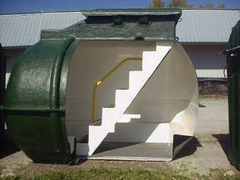 Lifesaver LS-10 Person Underground Storm Shelter