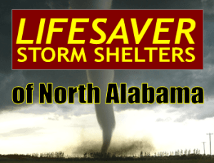 Lifesaver Storm Shelters of North Alabama logo