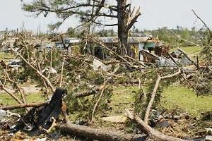 Huntsville Tornado damage