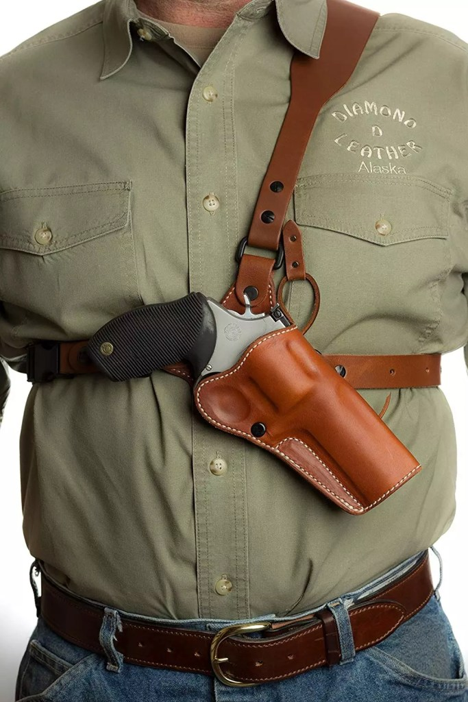 Guides Choice Chest Holster by Diamond D Leather