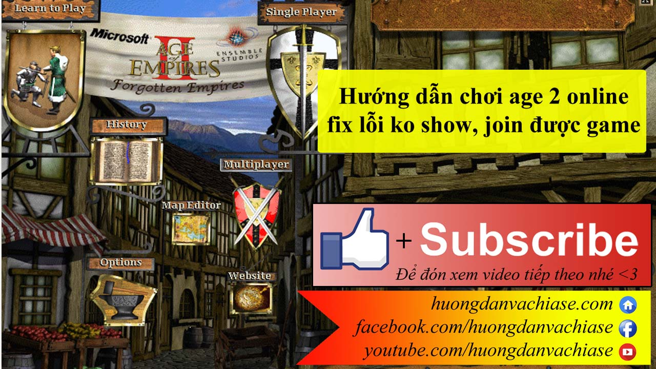 Choi game age of empires 2 UnPnP