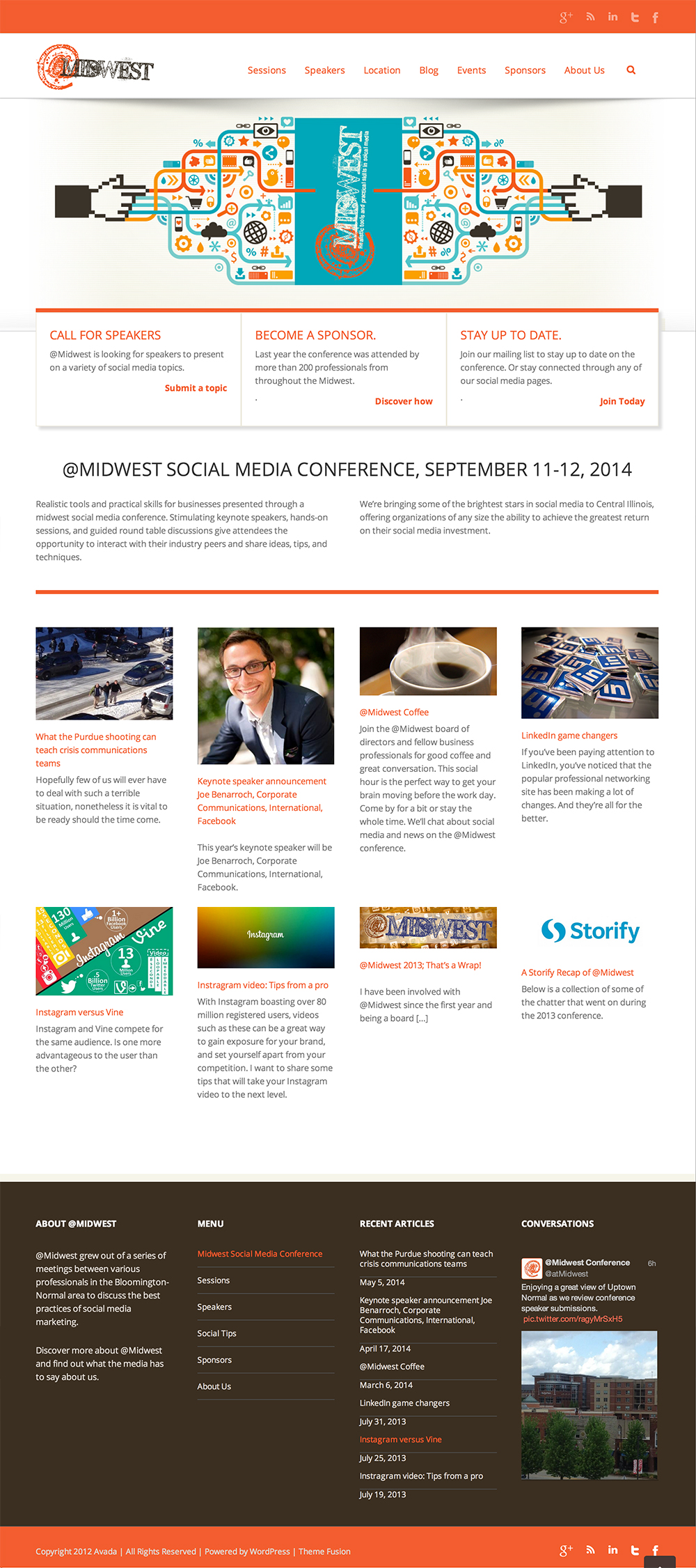 @Midwest Social Media Conference