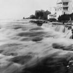 Amerikanischer Photograph um 1857: Überschwemmung in den Vereinigten Staaten. 1857, Daguerreotypie.New York, Sammlung »International Museum of Photography«, George Eastman House, Rochester.