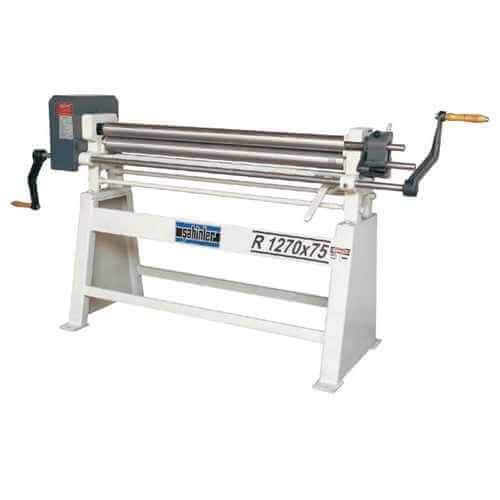 R Series 3 Rolls Manual Plate Bending Machines