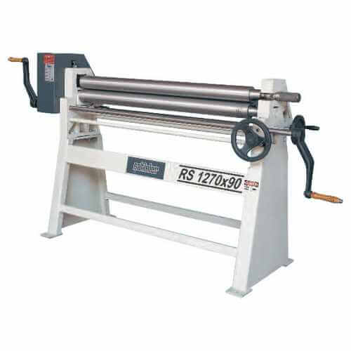 RS Series 3 Rolls Manual Plate Bending Machines