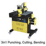 3-in-1 Punching, Cutting, Bending Machine