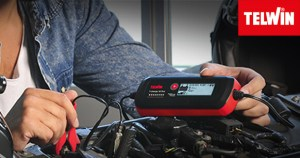 TELWIN T-CHARGE 12 EVO, 3-in-1 Battery Charger, Maintainer & Tester