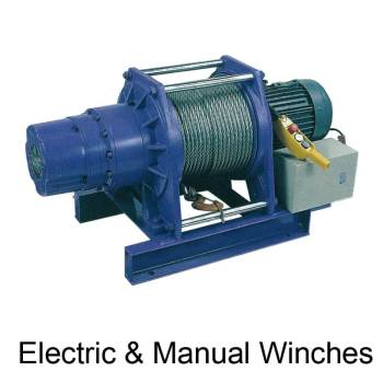 Electric & Manual Winches