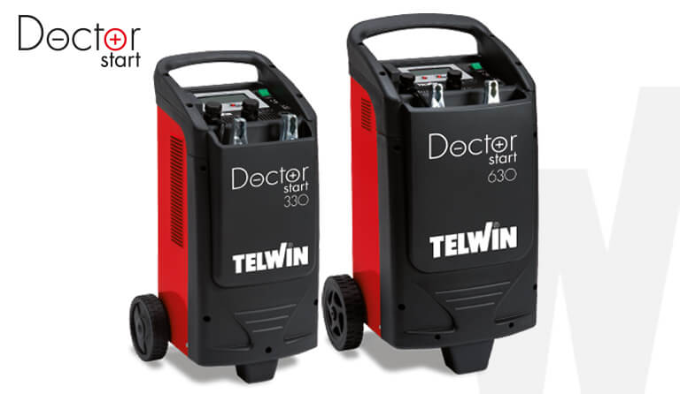 Introducing DOCTOR START: the Doctor for starting that takes care of batteries